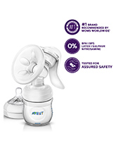 Avent - Comfort Manual Breast Pump - Allows You To Sit More Comfortably