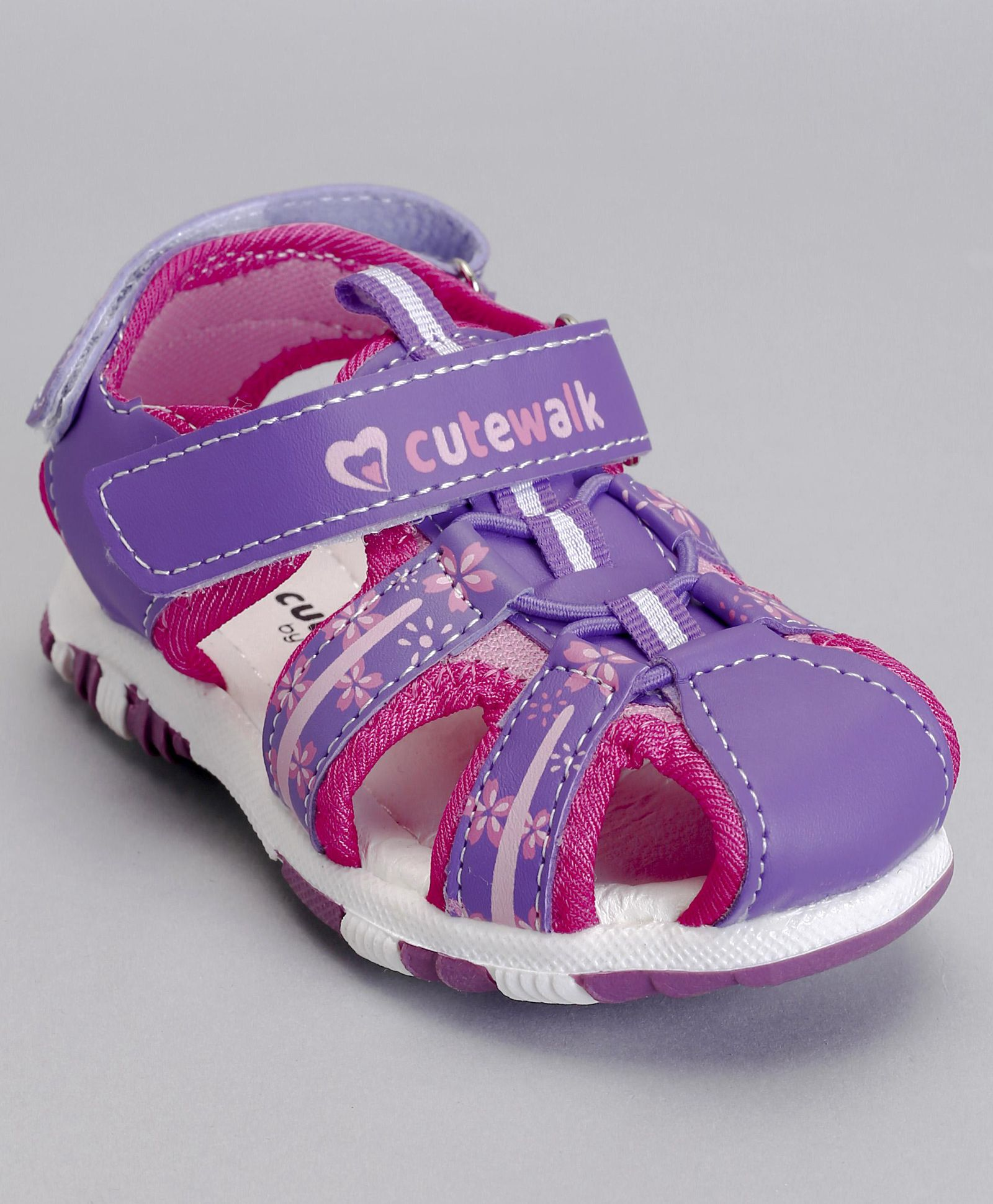 cb622bf26 Cute Walk By Babyhug Girls Girls Sandals Price List in India on May ...